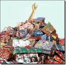 piles of presents