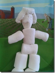 marshmallow lady made by lily